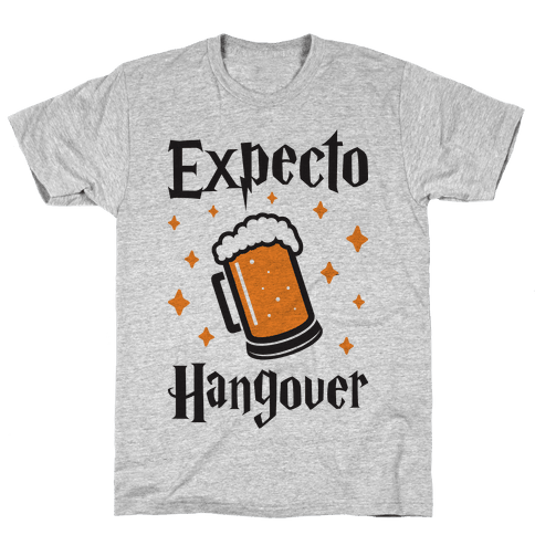 Expecto Hangover (Beer) Mens T-Shirt