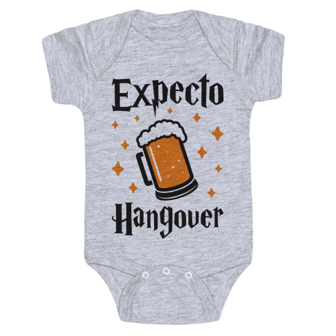 Expecto Hangover (Beer) Baby Onesy