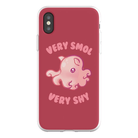 Very Smol Very Shy Phone Flexi-Case