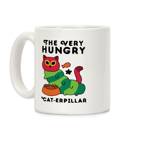The Very Hungry Cat-erpillar Coffee Mug