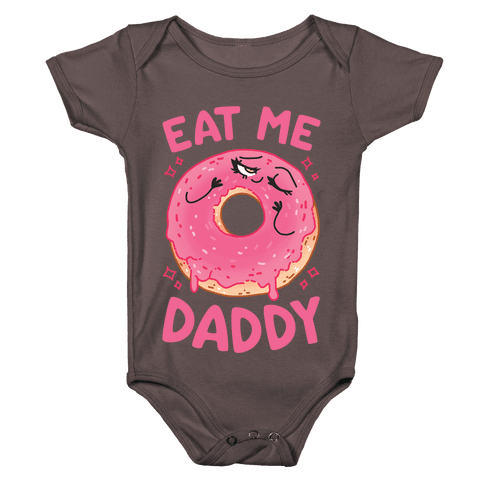 Eat Me Daddy Baby One-Piece