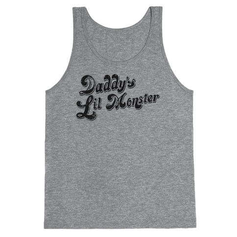 Daddy's Lil Monster Tank Top