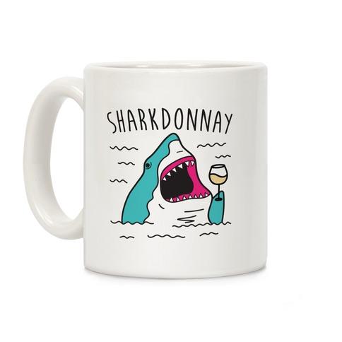 Sharkdonnay Coffee Mug