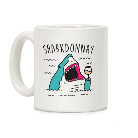 Sharkdonnay Coffee Mug