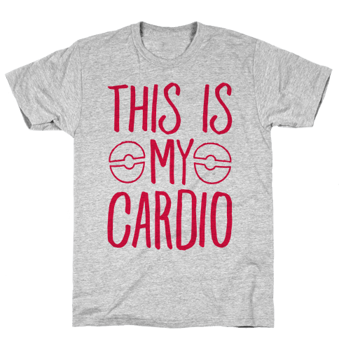 This Is My Cardio Mens T-Shirt