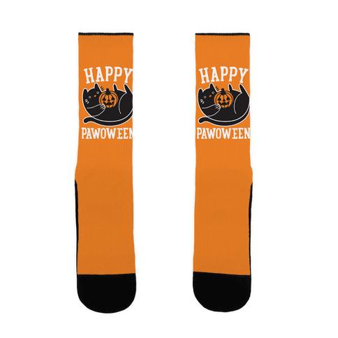 Happy Pawoween Sock