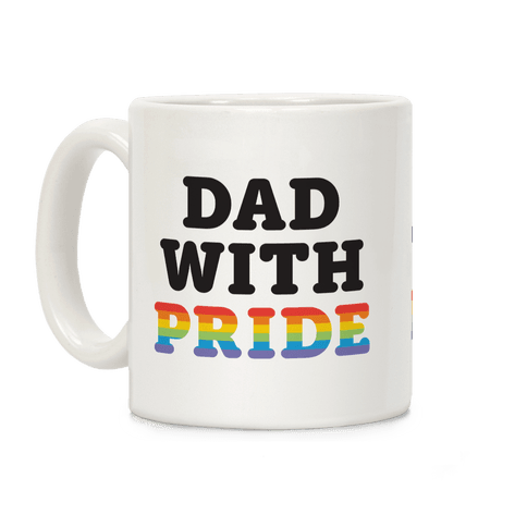 Dad With Pride Coffee Mug