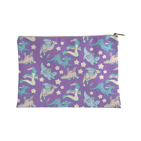 Dreamy Dragon Pattern Accessory Bag