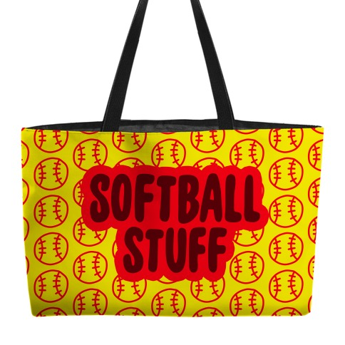 Softball Stuff Weekender Tote