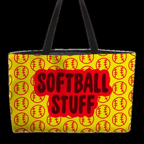 Softball Stuff Weekender Tote