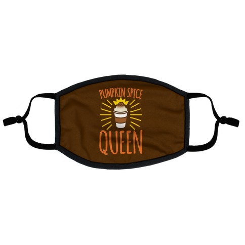 Pumpkin Spice Queen Flat Face Mask