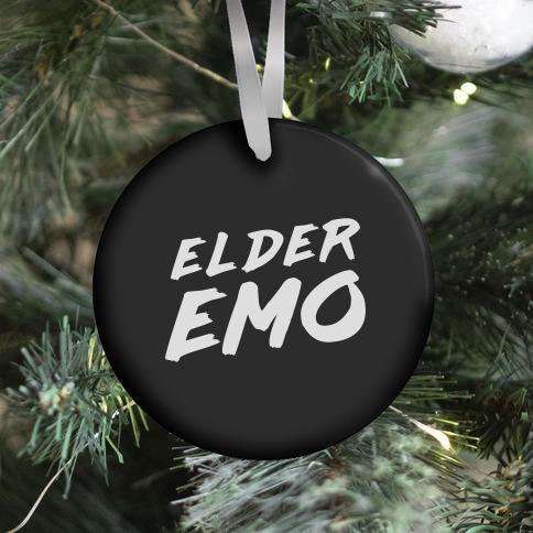 Elder Emo Ornament