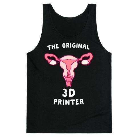 The Original 3d Printer Tank Top