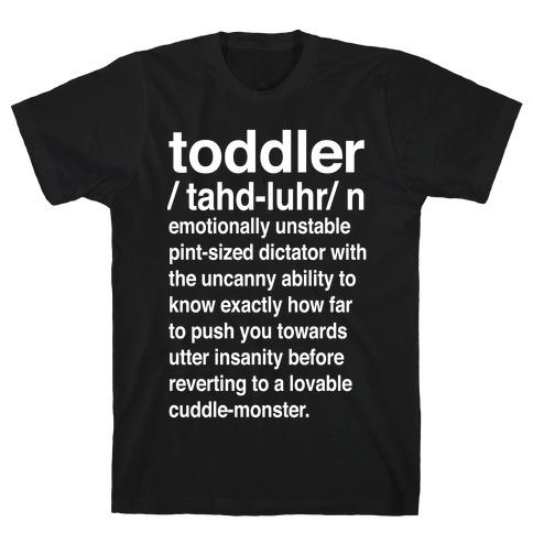 Toddler Definition T-Shirt