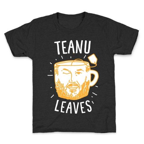 Teanu Leaves Kids T-Shirt