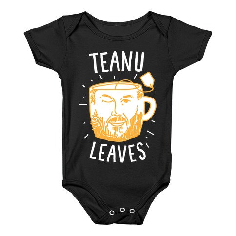 Teanu Leaves Baby Onesy