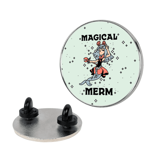 Magical Merm Pin
