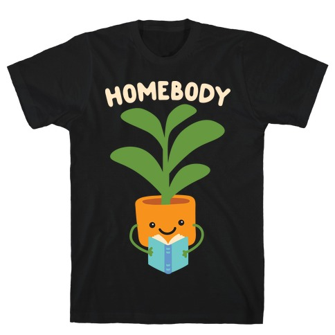 Homebody Reading Plant T-Shirt