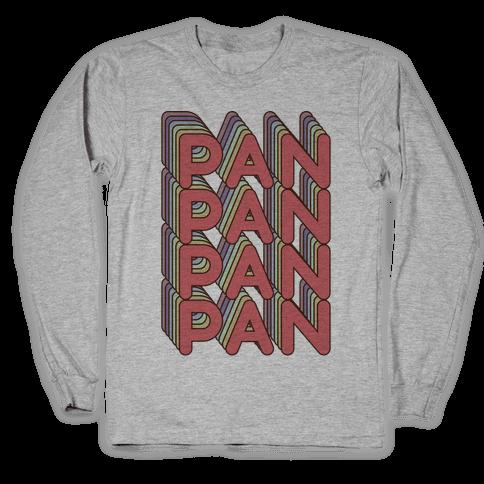 Pan Retro Rainbow Long Sleeve T-Shirt
