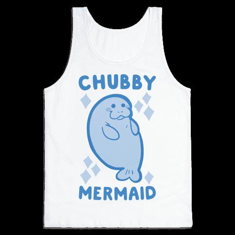 Chubby Mermaid Tank Top