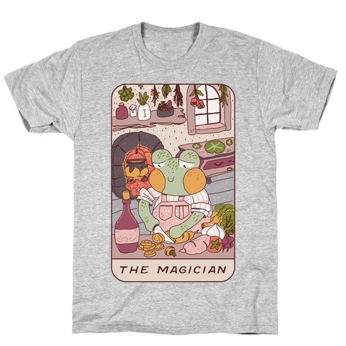 Cottagecore Magician Tarot Card T-Shirt