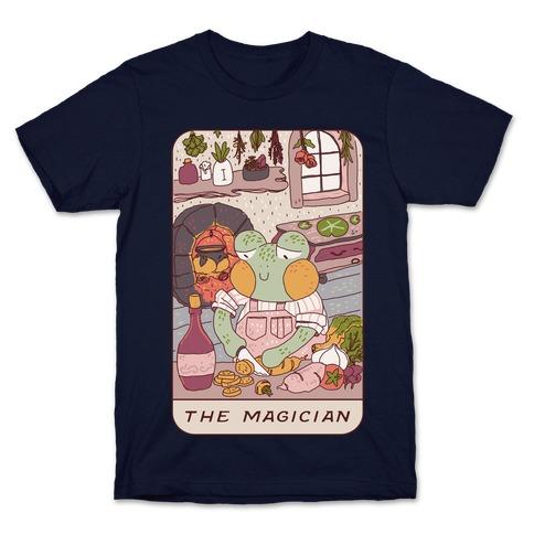 Cottagecore Magician Tarot Card T-Shirt