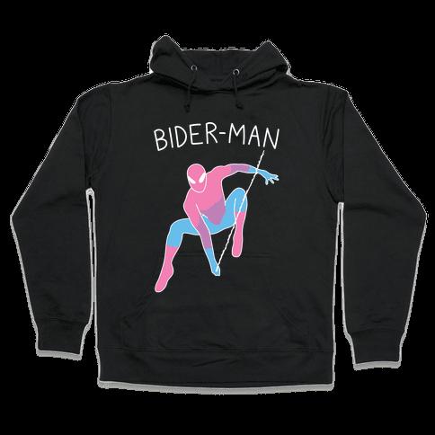 Bider-Man Parody Hooded Sweatshirt