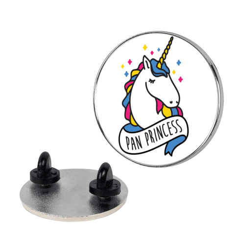 Pan Princess pin