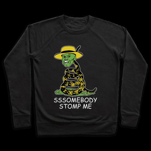 SSSomebody Stomp Me Mask Parody Pullover