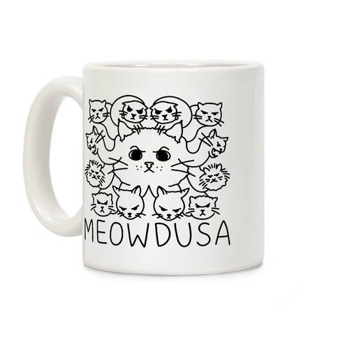 Meowdusa Coffee Mug