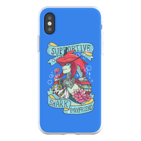 Prince Sidon: Supportive Shark Boyfriend Phone Flexi-Case