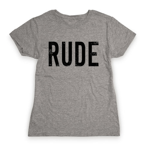 RUDE Womens T-Shirt