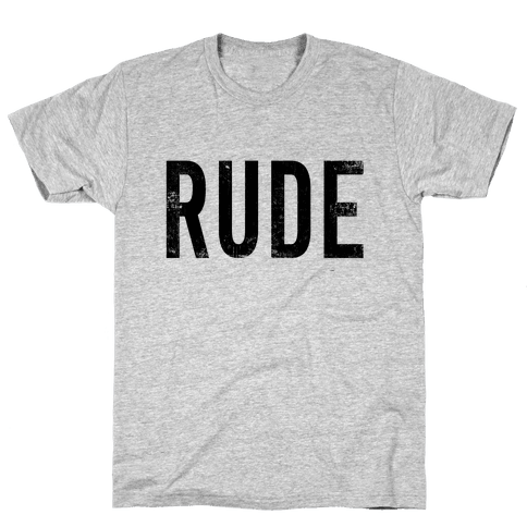 RUDE Mens T-Shirt