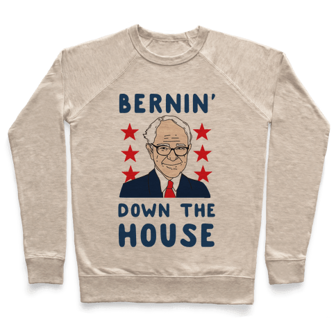Bernin' Down the House Pullover