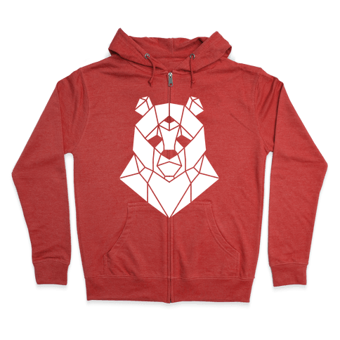 The Bear Sees All Zip Hoodie