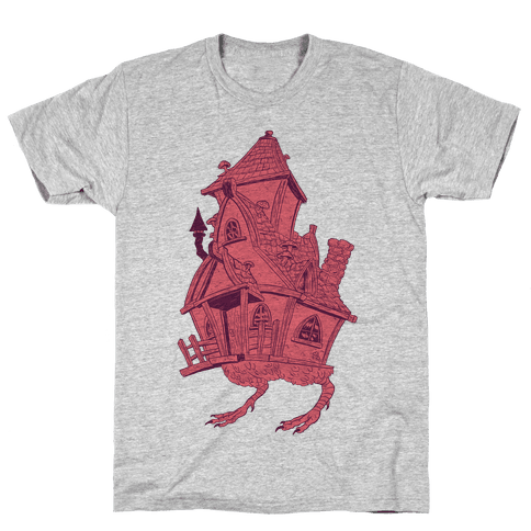 Baba Yaga's House Mens T-Shirt