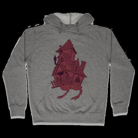 Baba Yaga's House Hooded Sweatshirt