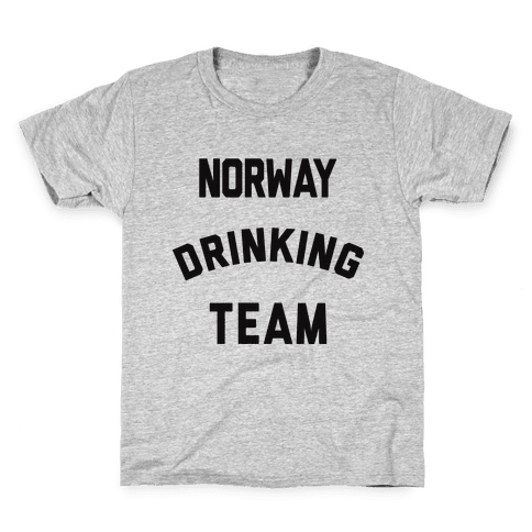 Norway Drinking Team Kids T-Shirt