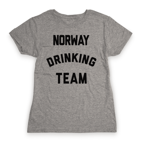Norway Drinking Team Womens T-Shirt