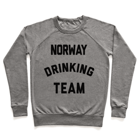 Norway Drinking Team Pullover