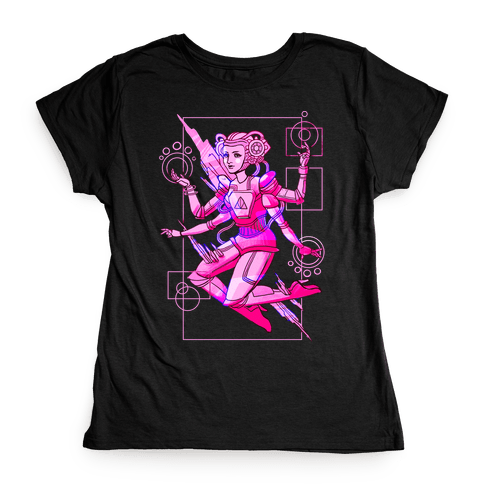 Cosmic Goddess Womens T-Shirt