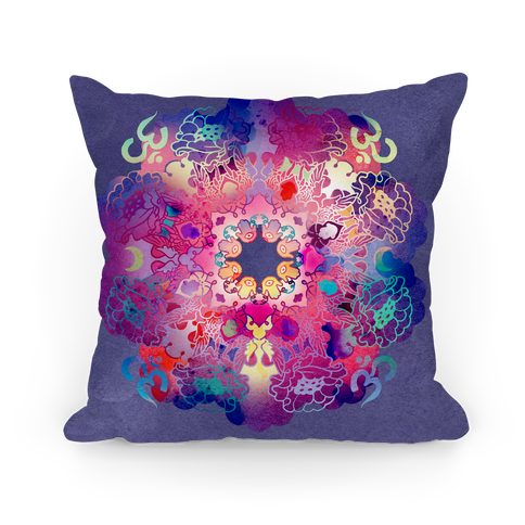 Colorful Yoga Pillow