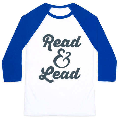 Read & Lead Baseball Tee