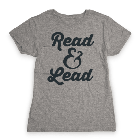 Read & Lead Womens T-Shirt
