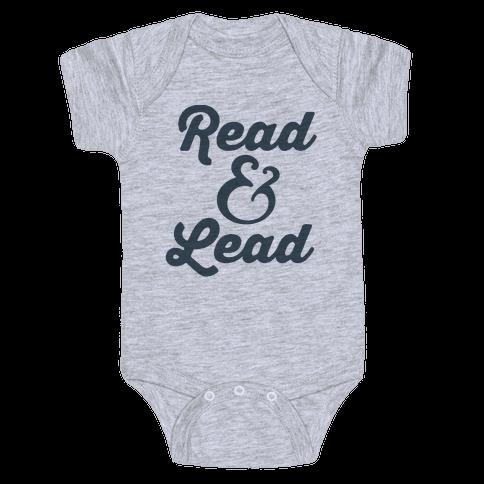 Read & Lead Baby Onesy