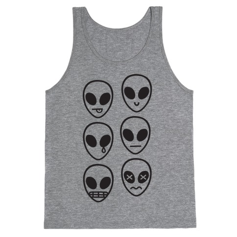 Alien Emojis Tank Top