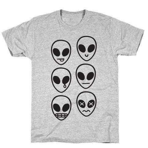 Alien Emojis T-Shirt
