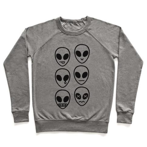 Alien Emojis Pullover