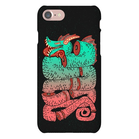 Sea Serpent Sections Phone Case
