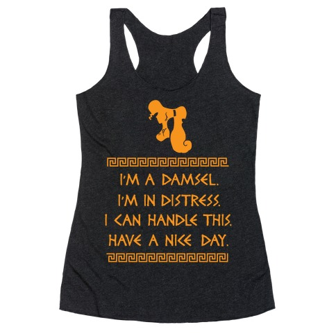 I Can Handle This Racerback Tank Top